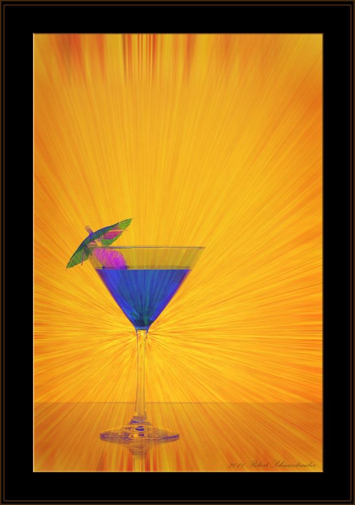 Martini Blue-Glass