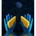 CreativePhotographyTricks.com/Blue_Gloves