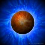 Energy Nova Orange Sphere Web