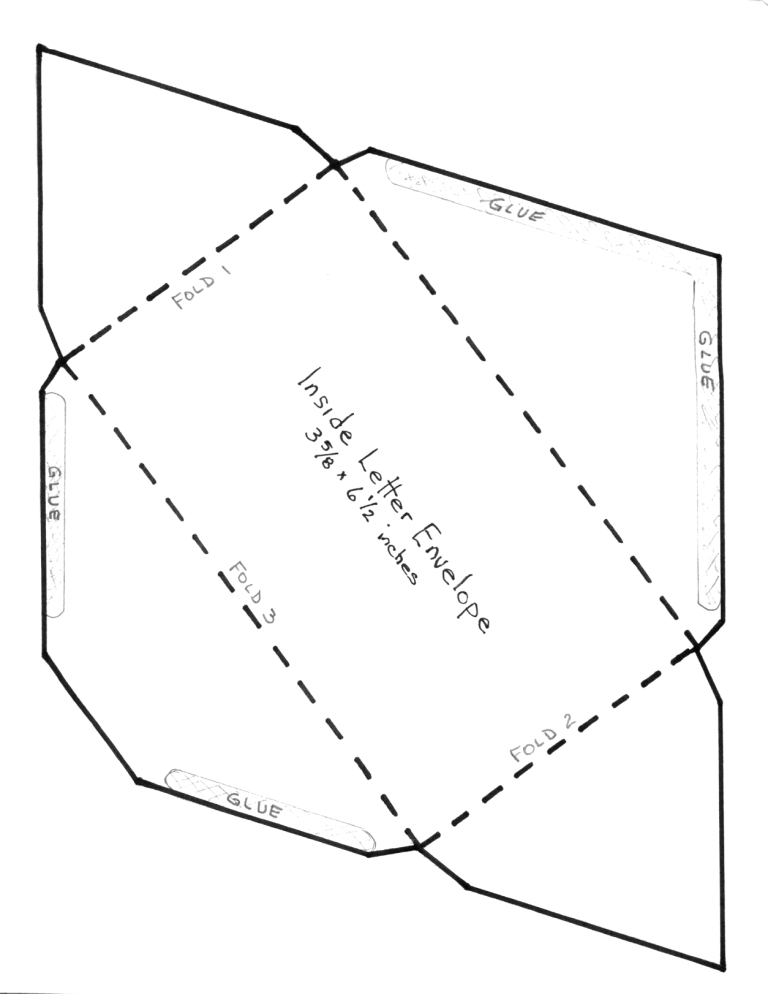 Diy envelope template for 8 5 x 11 envelope template