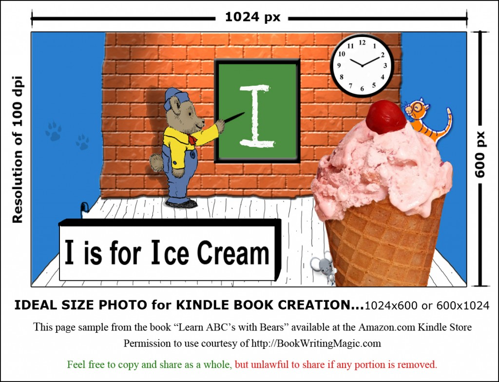 Kindle Page Size for Photos at http://creativephotographytricks.com